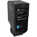 Lexmark Unison Original Toner Cartridge - Cyan