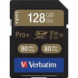 Verbatim Pro+ 128 GB SDXC - TAA Compliant