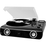 iLive All-in-one Turntable with Bluetooth, Radio & Stereo Speakers