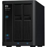 WD My Cloud Pro Series PR2100 2-BAY 8TB Network Attached Storage - NAS - WDBNFA0000NBK-NESN
