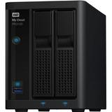 WD My Cloud Pro Series PR2100 2-BAY 4TB Network Attached Storage - NAS - WDBNFA0000NBK-NESN