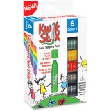 The Pencil Grip Kwik Stix 6-color Solid Tempera Paint