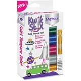 The Pencil Grip Kwik Stix Tempera Paint Metalix Sticks