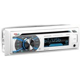 Boss Audio MR508UABW Marine CD/MP3 Player - iPod/iPhone Compatible - Single DIN - White