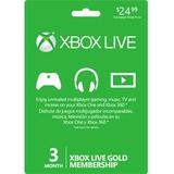 Microsoft 3-Month Xbox Live Gold Membership
