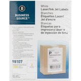 Business Source Premium White Mailing Labels - Internet Shipping