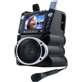 Karaoke USA GF840 Dvd/cd+g/mp3+g Bluetooth(r) Karaoke System With 7