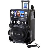 Karaoke USA GP978 Professional Dvd/cd+g/mp3+g Bluetooth(r) Karaoke System With 7