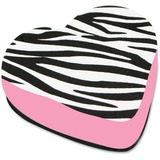ASH10022 - Ashley Zebra Heart Magnetic Whitebd Eraser