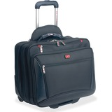 "MANCINI Biztech Carrying Case (Briefcase) for 17"" Notebook - Black"