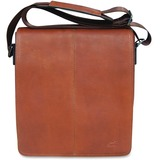 MANCINI COLOMBIAN Carrying Case (Messenger) for Tablet - Cognac