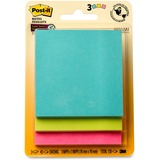 Post-it Super Sticky Adhesive Note, Miami Color Collection