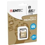 EMTEC Gold 8 GB microSDHC