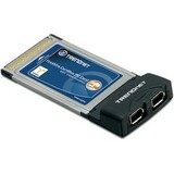 TRENDnet 2-Port FireWire PC Card