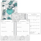 Blueline DoodlePlan Weekly/Monthly Planner