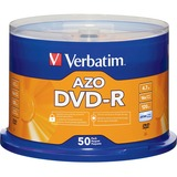 Verbatim 95101 DVD Recordable Media - DVD-R - 16x - 4.70 GB - 50 Pack Spindle 95101