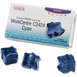Xerox Cyan Solid Ink Sticks 108R00660