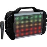 boytone 52-Series Portable Audio Karaoke Bluetooth Speaker System with Microphone