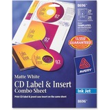 Avery CD Label & Insert Sheet Combo - 8696