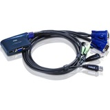 Aten CS62U 2-Port KVM Switch CS62U