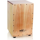 PylePro Stringed Jam Cajon - Wooden Cajon Percussion Box