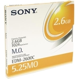 "Sony 5.25"" Magneto Optical Media EDM2600C"