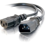 C2G 15ft 18 AWG Computer Power Extension Cord (IEC320C14 to IEC320C13)