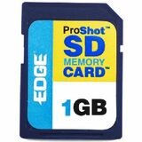 EDGE Tech 1GB ProShot Secure Digital Card 60X