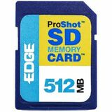 EDGE Tech 512MB ProShot Secure Digital Card 60X