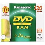 Panasonic 3x DVD-RAM Single-Sided Media