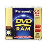 Panasonic DVD-RAM Double-sided Media - LMAF60U