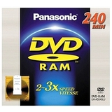 Panasonic 3x DVD-RAM Double-Sided Media