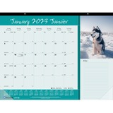 Blueline Monthly Desk Pad Furry Collection