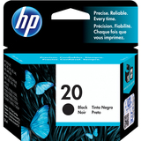 HP No.20 Black Inkjet Print Cartridge - C6614D