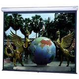 Da-Lite Model C With CSR Manual Wall and Ceiling Projection Screen 79876