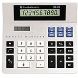Texas Instruments BA-20 Simple Calculator