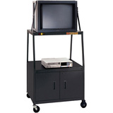 Bretford BBULC48 Wide Body A/V Cart With Cabinet