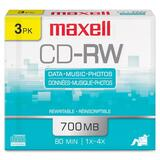 Maxell CD-RW Media