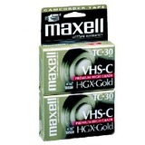 Maxell Premium VHS-C Videocassette