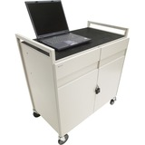 Bretford LAPTG15ESA-GM Fully Assembled Laptop Storage Cart