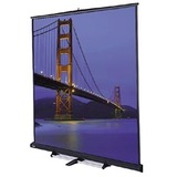 Da-Lite Carpeted Floor Model C Manual Wall and Ceiling Projection Screen