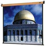 Da-Lite Veneer Model B Manual Wall and Ceiling Projection Screen (Heritage Walnut)