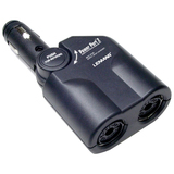 Lenmar Power Port SPP02 2-Port Auto Power Adapter