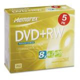 Memorex 8x DVD+RW Media