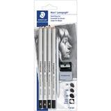 Staedtler Mars Lumograph Charcoal Pencil Set