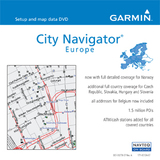 Garmin City GPS Europe Digital Map