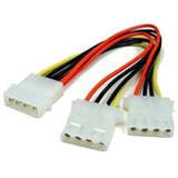 Cables Unlimited 8in Y Power Cable for 5.25in Drives
