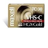 High Grade VHS-C Videotape Cassette, 30 Minutes  MPN:203010