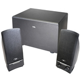 Cyber Acoustics CA-3001rb 2.1 Speaker System - 14 W RMS - Black CA-3001RB