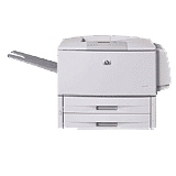 HP LaserJet 9000 9040DN Laser Printer - Monochrome - Plain Paper Print - Desktop